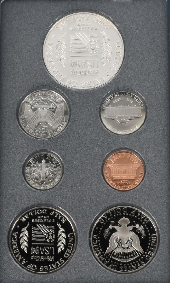 3-US MINT PRESTIGE SETS, 1983, 1984 & 1994 - 3