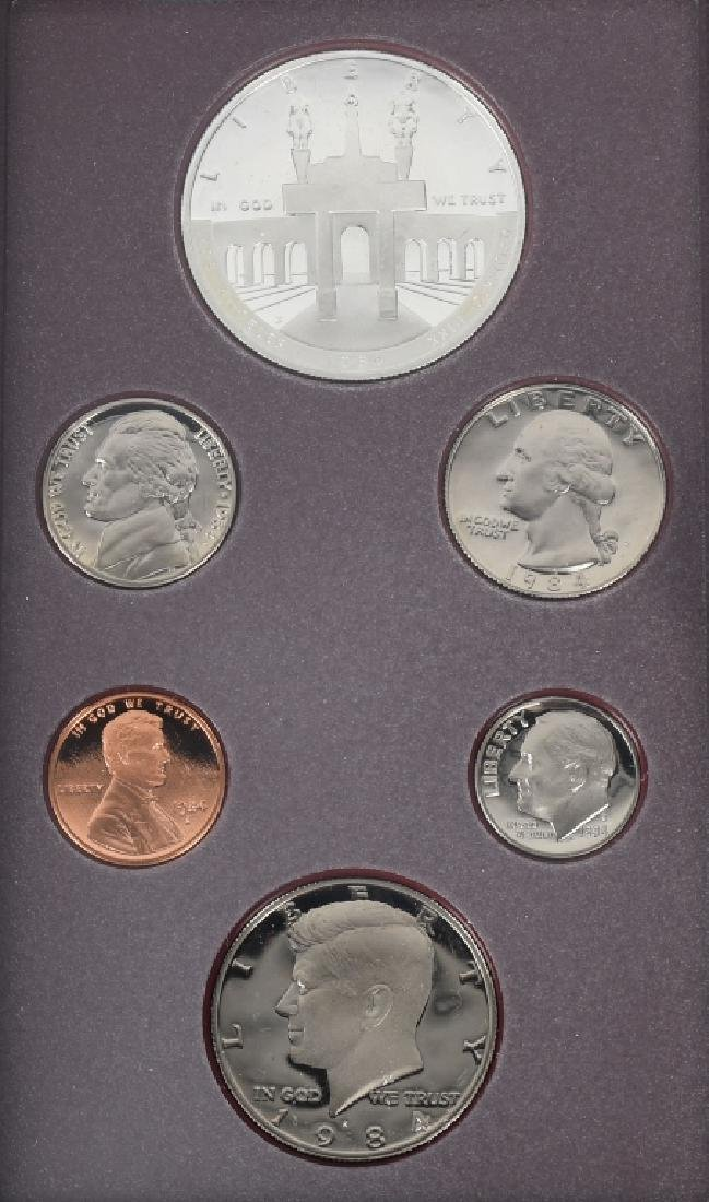 3-US MINT PRESTIGE SETS, 1983, 1984 & 1994 - 4