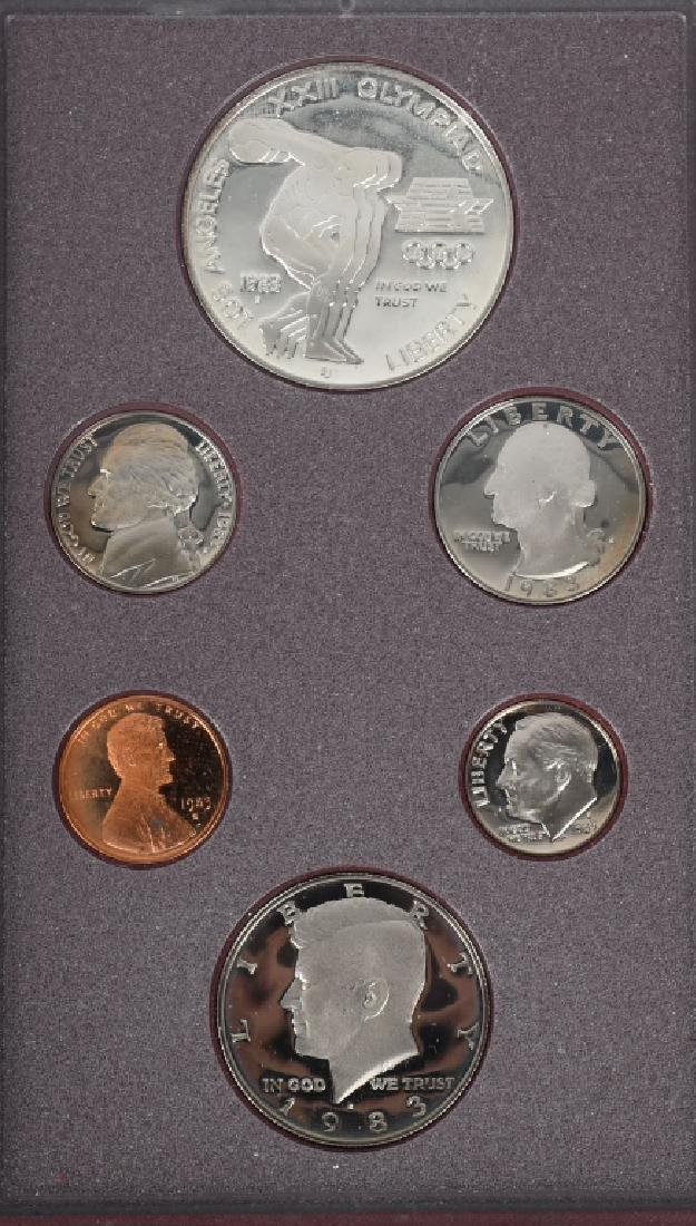 3-US MINT PRESTIGE SETS, 1983, 1984 & 1994 - 6