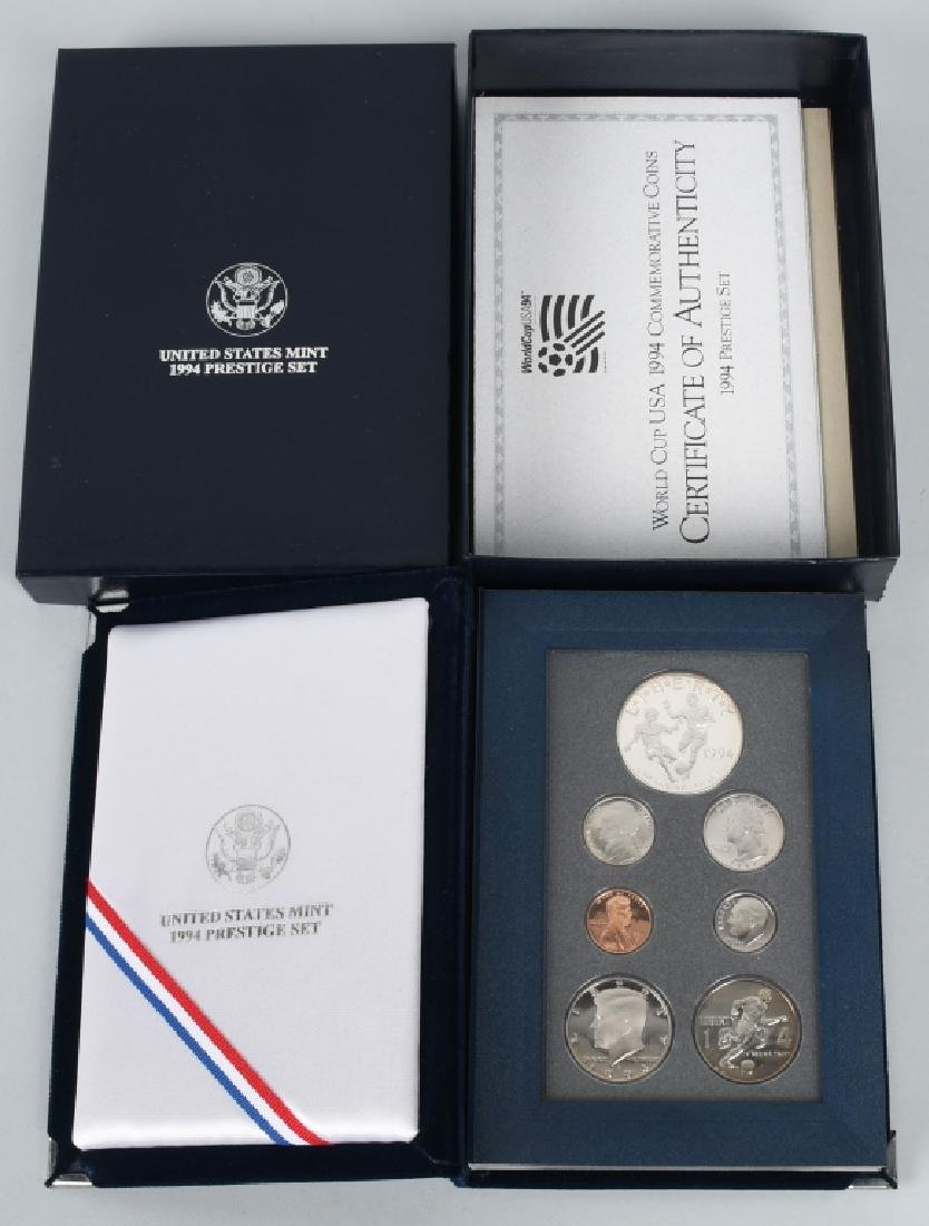 3-US MINT PRESTIGE SETS, 1983, 1984 & 1994 - 8