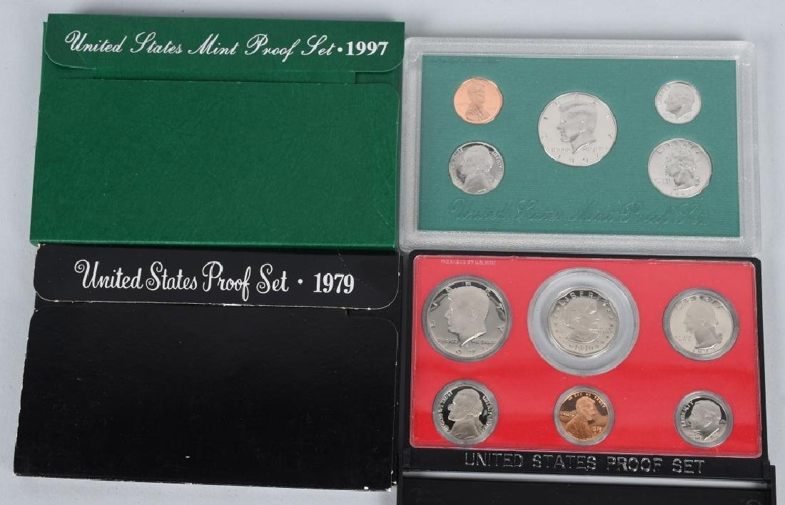 25-US PROOF SETS, MINT SETS & QUARTERS 1978-2009 - 2