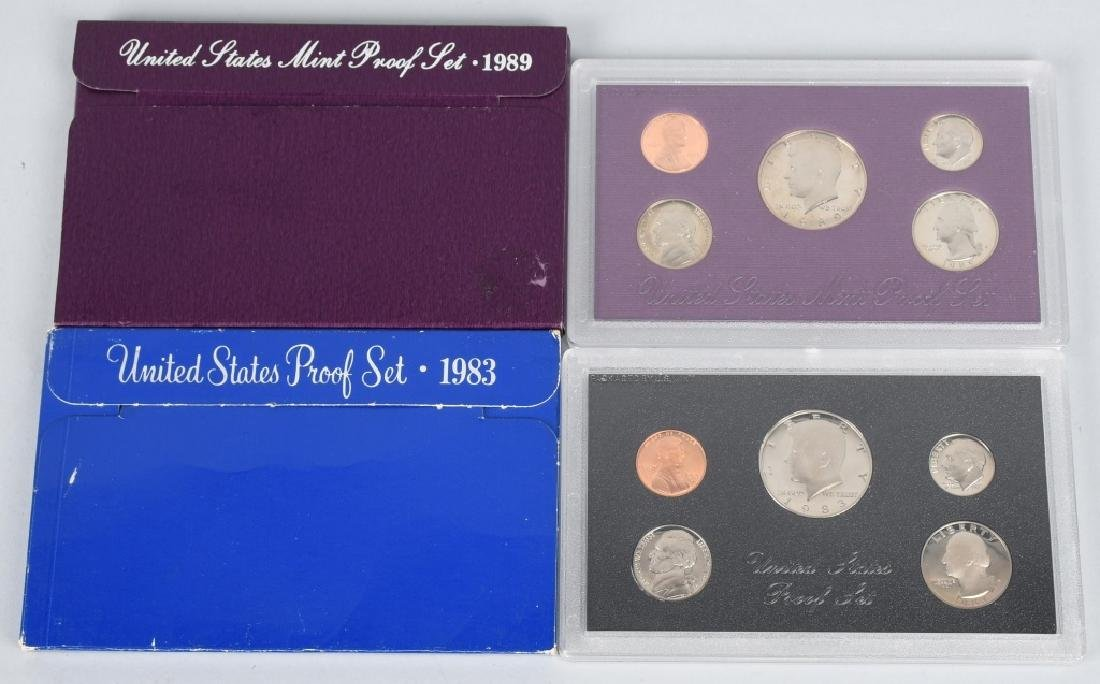 24-US PROOF SETS, 1980-1989 - 2