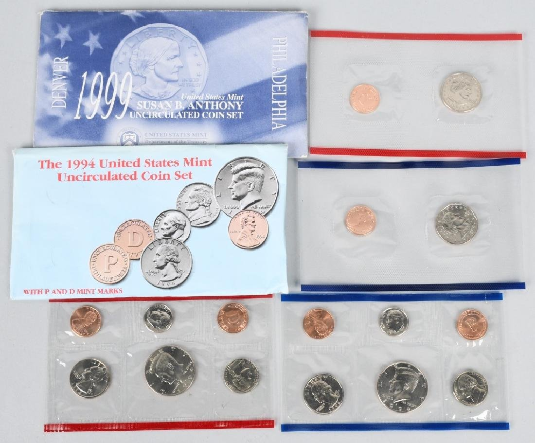 25-US PROOF SETS, & QUARTERS 1973-2006 - 4