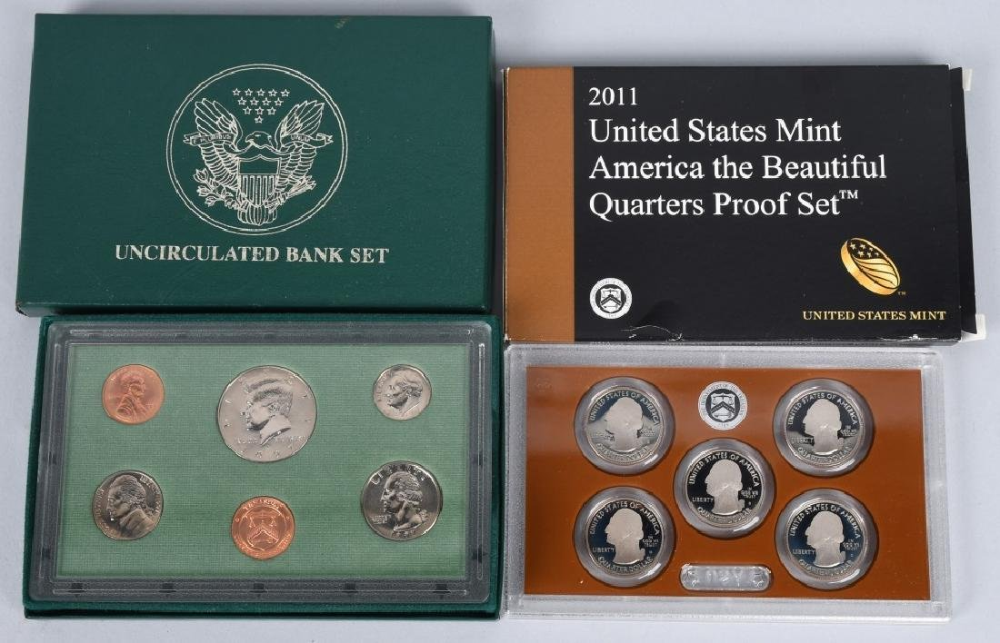 25-US PROOF SETS, MINT SETS & QUARTERS 1978-2011 - 2