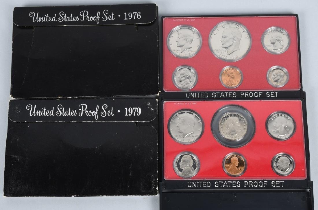 25-US PROOF SETS, MINT SETS & QUARTERS 1978-2011 - 3