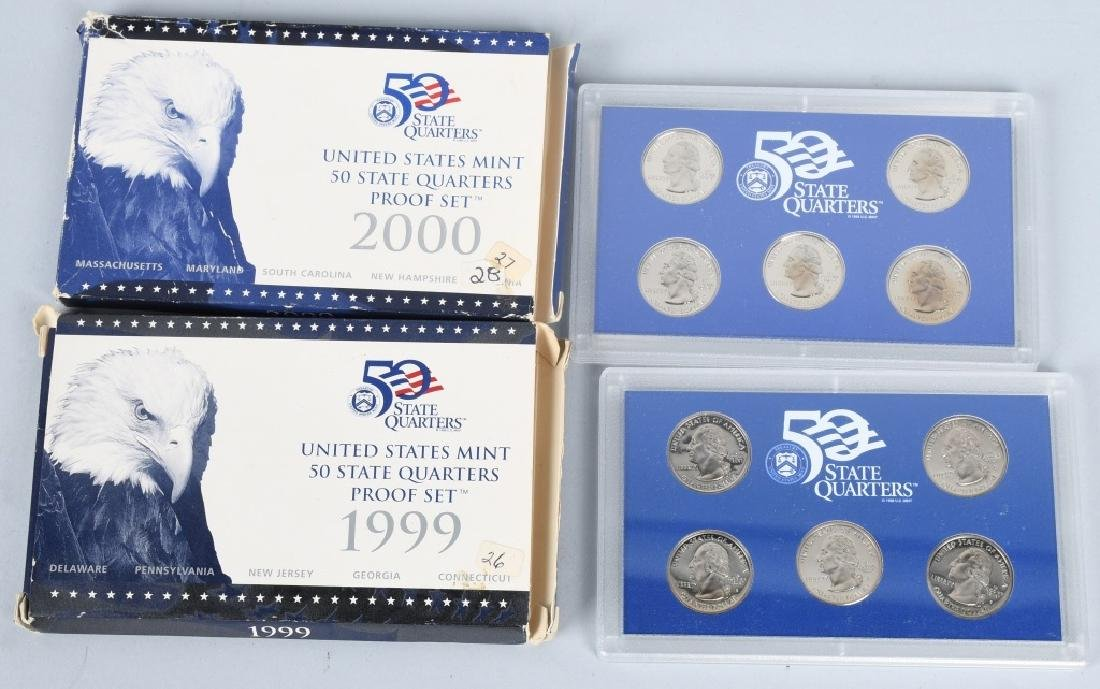 25-US PROOF SETS, MINT SETS & QUARTERS 1978-2011 - 4