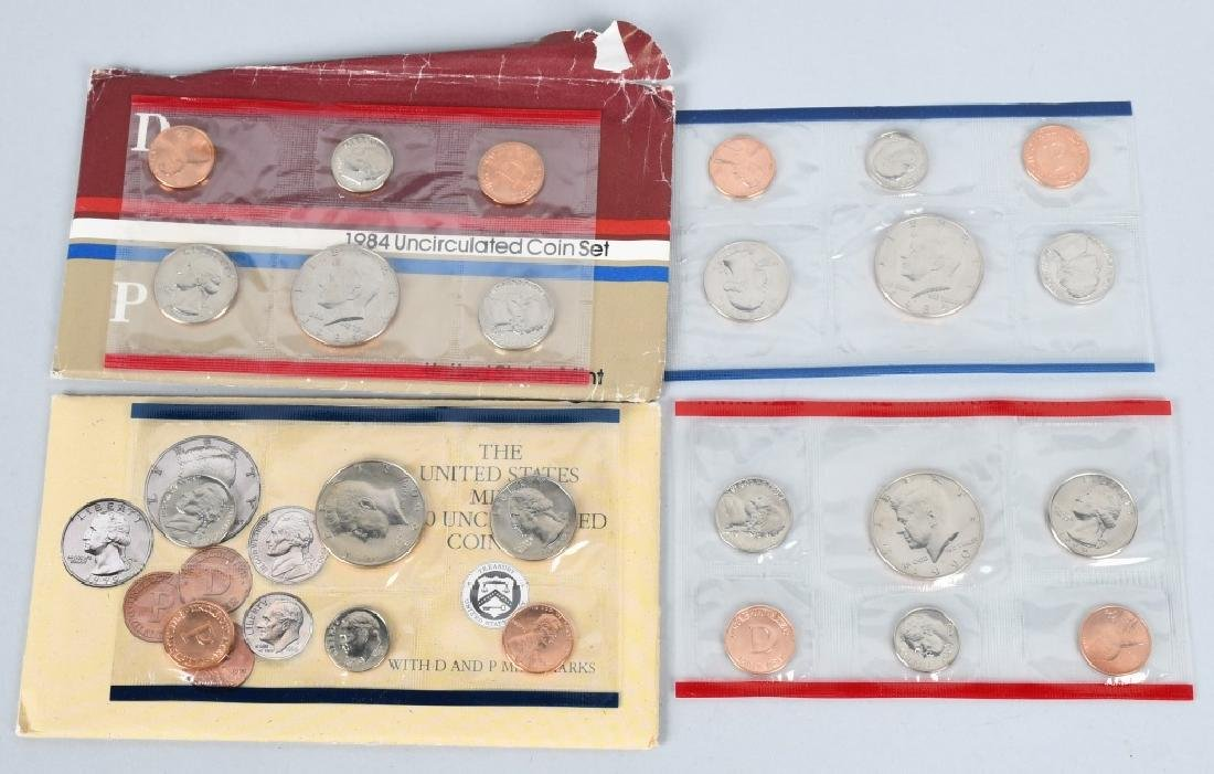 25-US UNCIRCULATED MINT SETS 1974-1999 - 2