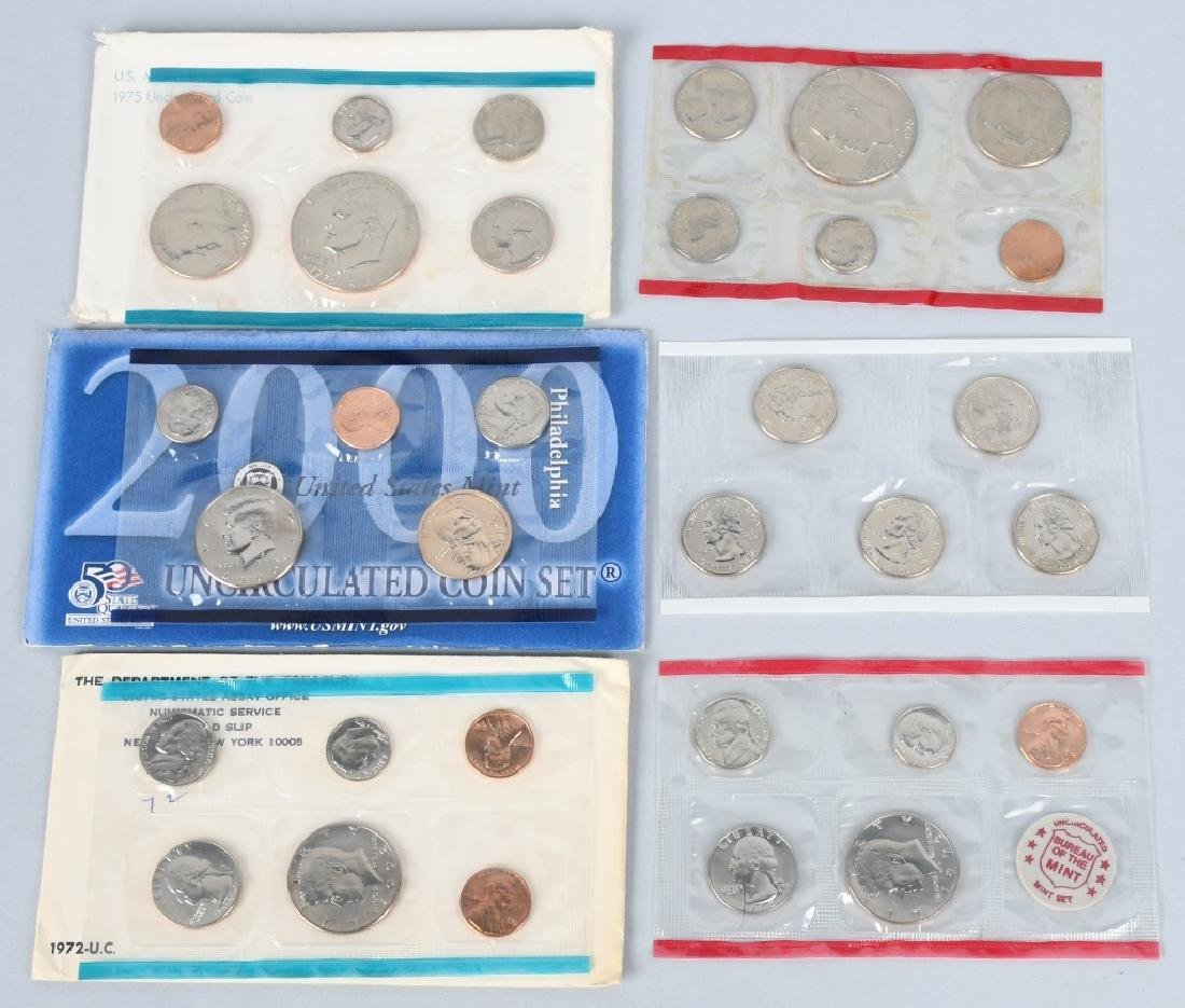 24-US UNCIRCULATED MINT SETS 1972-2002 - 2