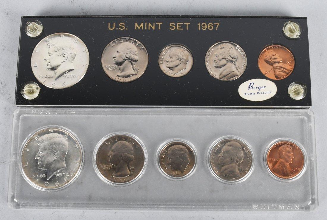 11-40% SILVER U.S. MINT SETS, & MORE 1965-1969 - 4