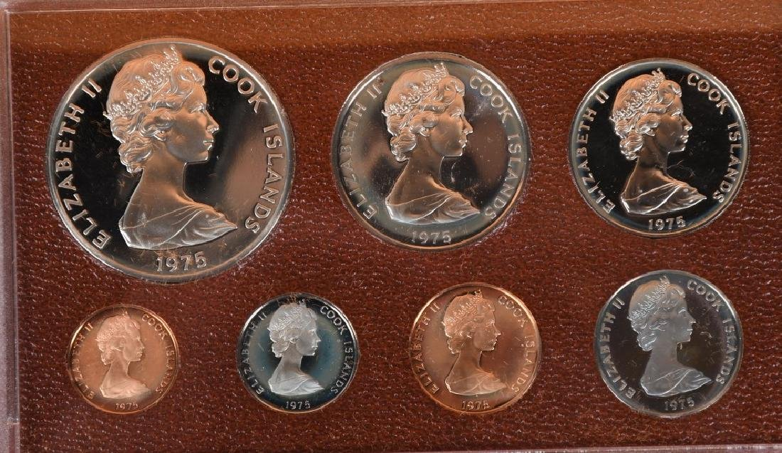 5-NATIONAL COLL. MINT PROOF SILVER DOLLARS & MORE - 3