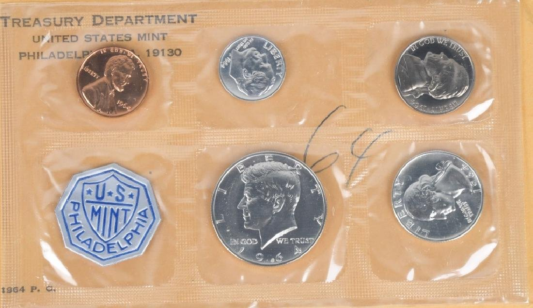 4- US SILVER COIN COLLECTOR SETS - 10