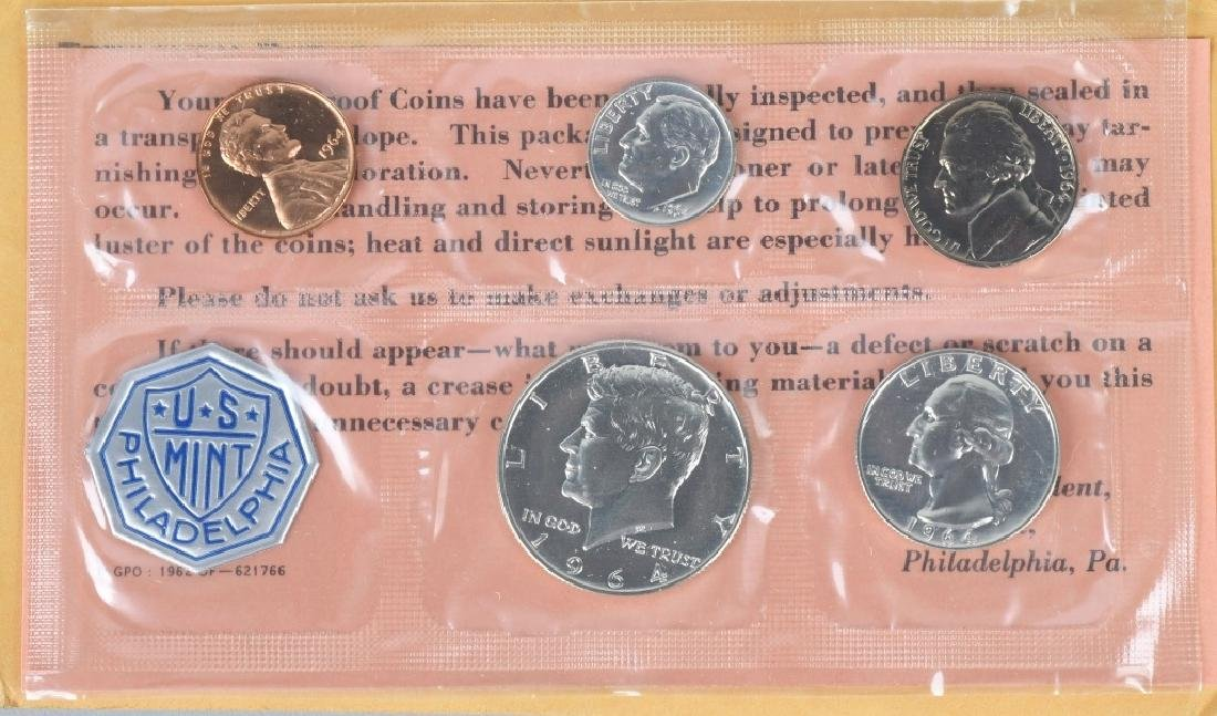 4- US SILVER COIN COLLECTOR SETS - 11