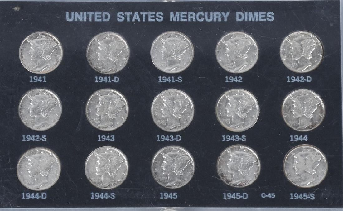 4- US SILVER COIN COLLECTOR SETS - 2