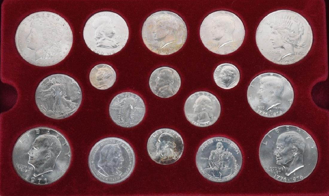 4- US SILVER COIN COLLECTOR SETS - 4