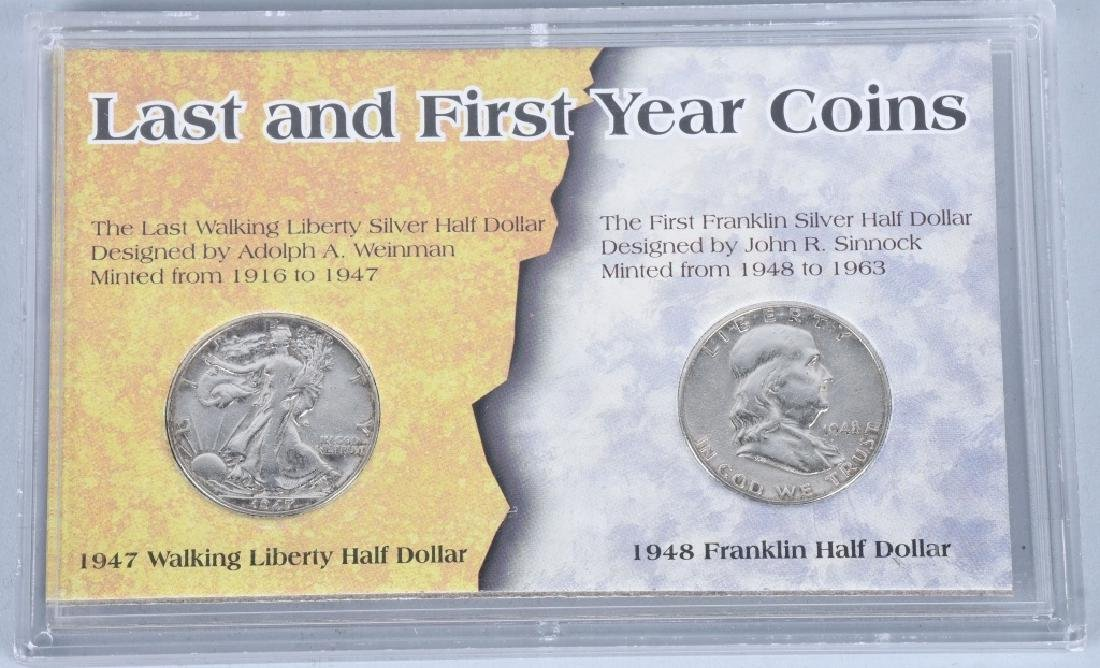 4- US SILVER COIN COLLECTOR SETS - 5