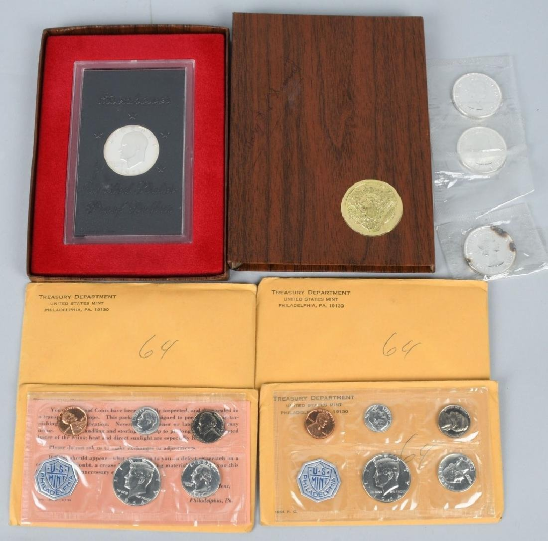 4- US SILVER COIN COLLECTOR SETS - 9