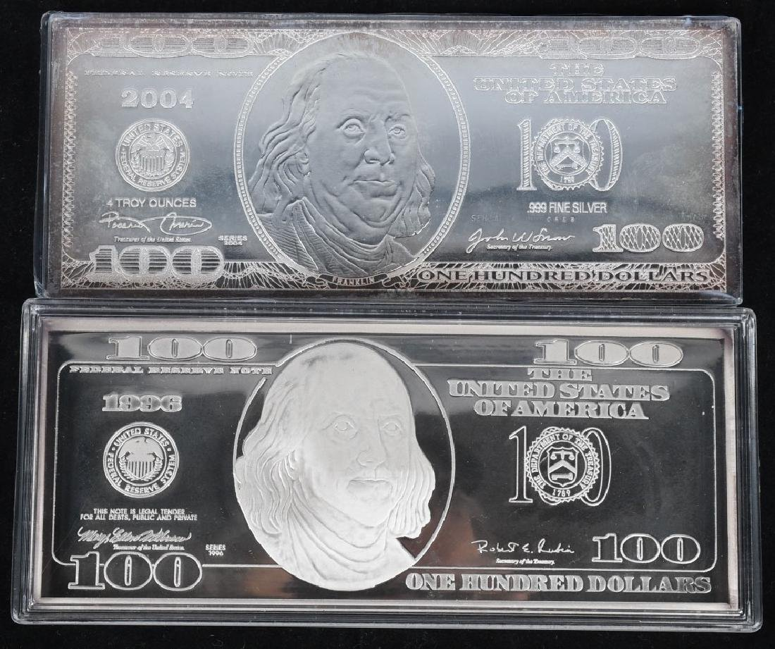 16 OZT .999 SILVER BARS - 2