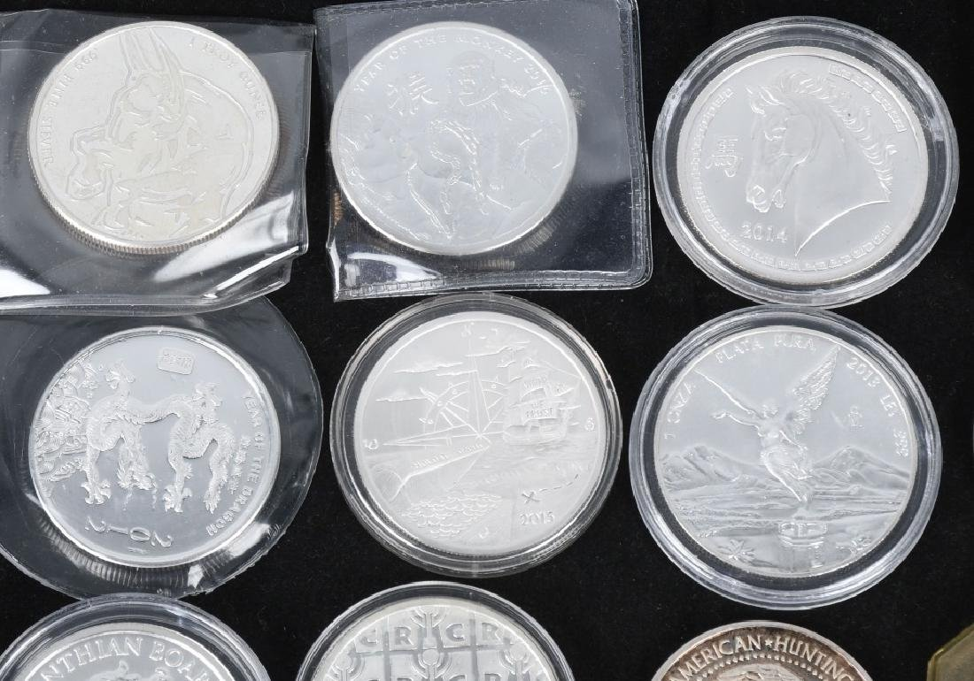 20 OZT .999 SILVER ROUNDS & BARS - 2