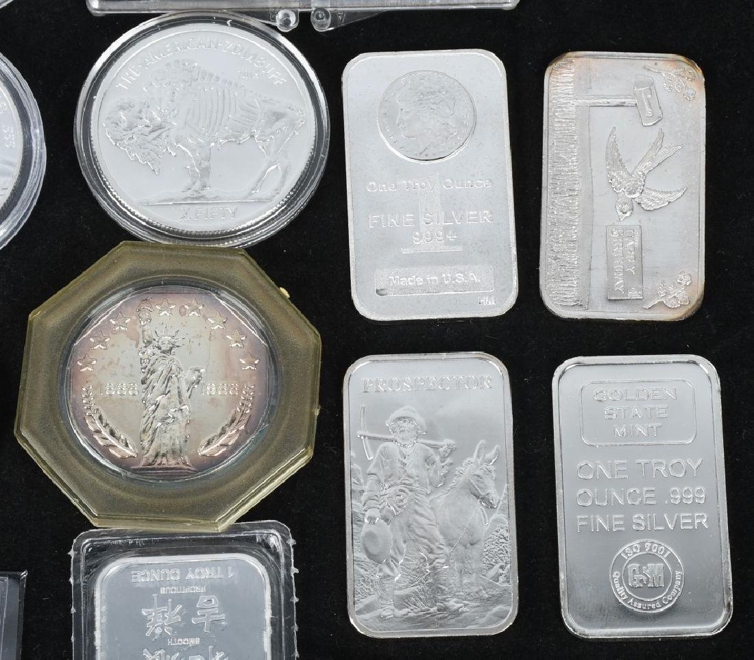 20 OZT .999 SILVER ROUNDS & BARS - 4