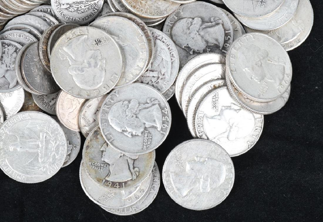 $29.75 US 90% SILVER COINS - 4