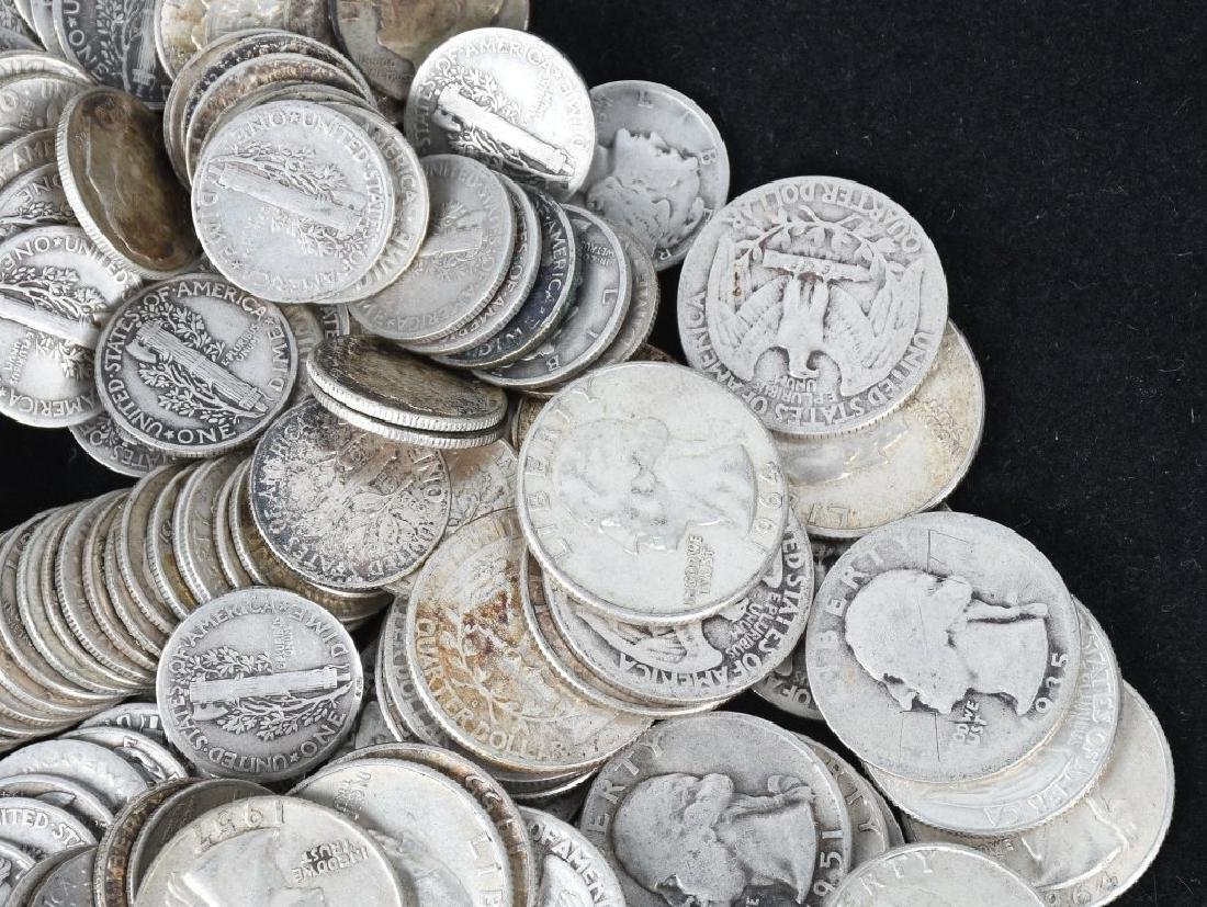 $29.75 US 90% SILVER COINS - 5