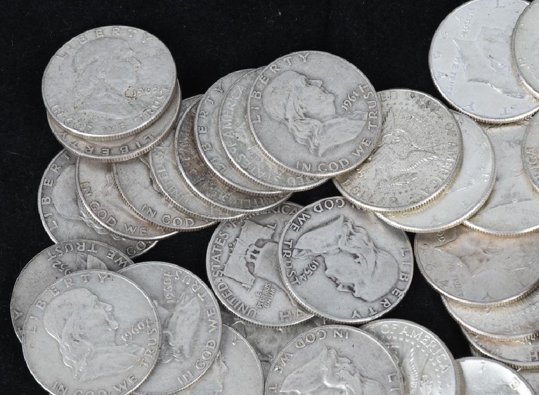 $38.50 90% HALF DOLLAR US SILVER - 2