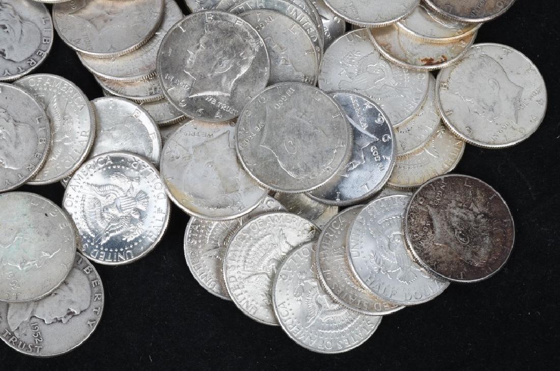 $38.50 90% HALF DOLLAR US SILVER - 3