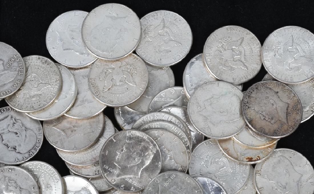 $38.50 90% HALF DOLLAR US SILVER - 4