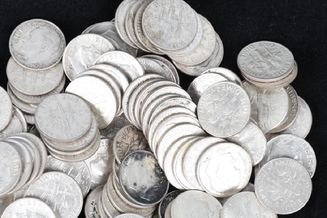 $30 US 90% SILVER COINS HALVES AND DIMES - 2