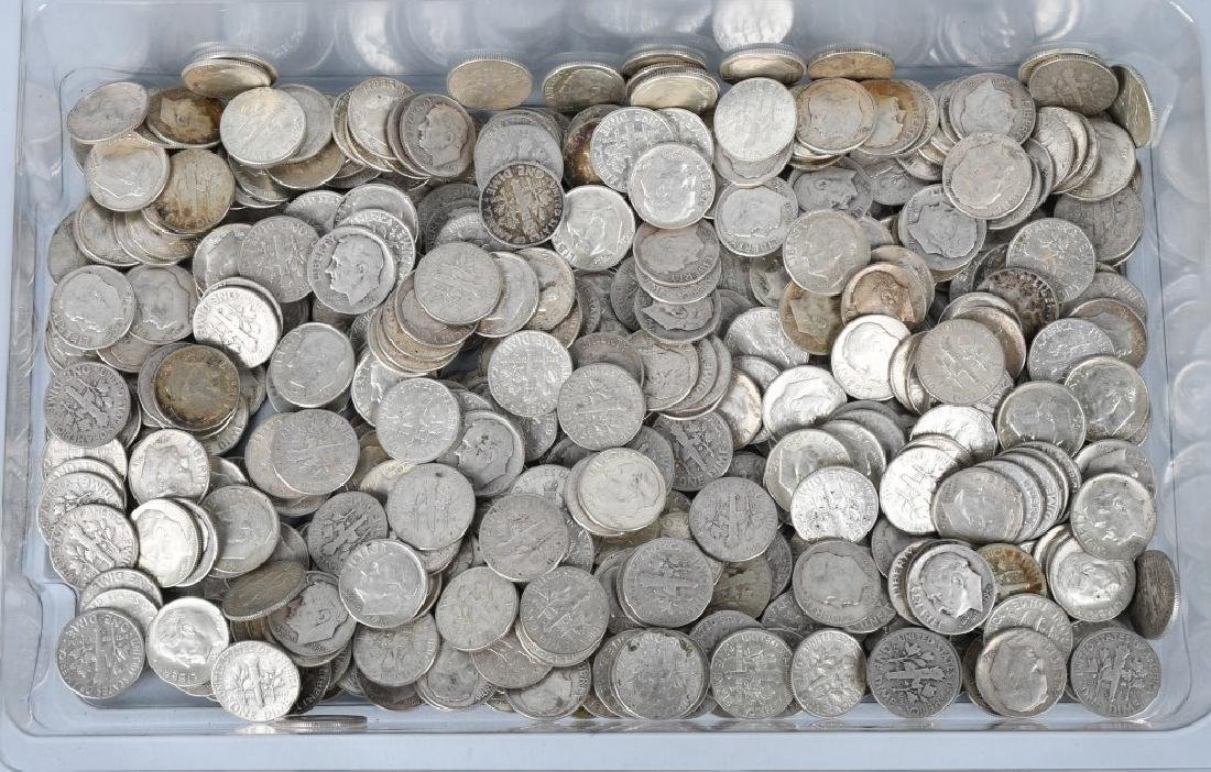 $50 US 90% SILVER MERCURY DIMES