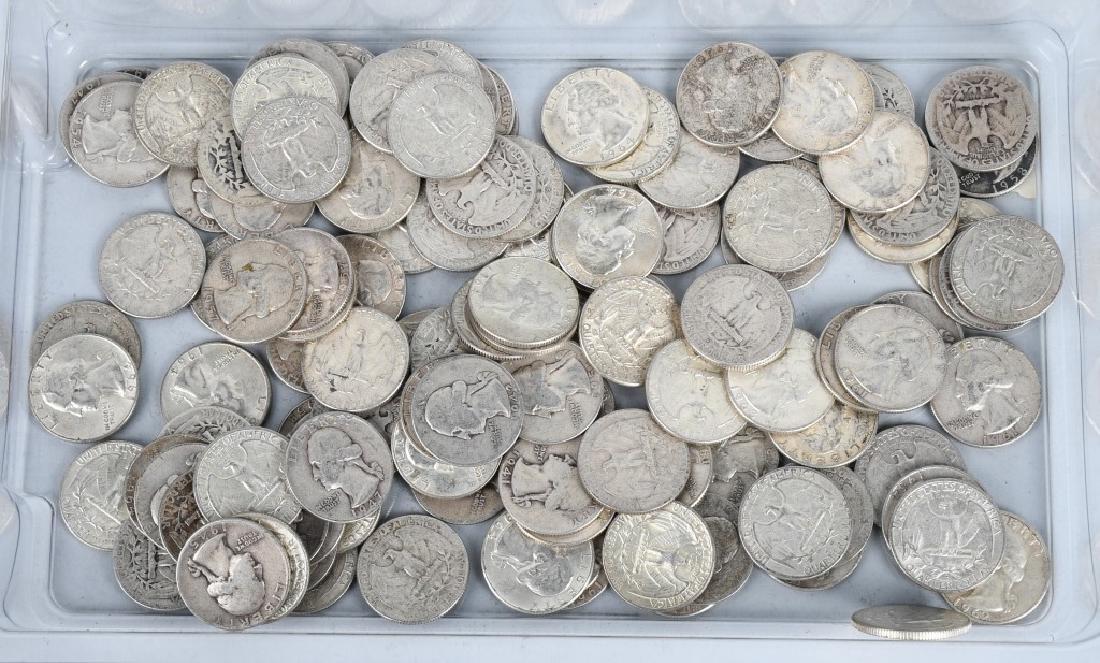 $40 US 1964 90% SILVER QUARTERS