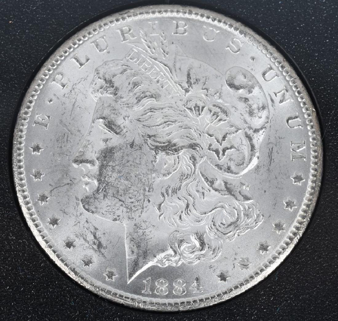 1884 CC CARSON CITY US MORGAN DOLLAR GSA - 3