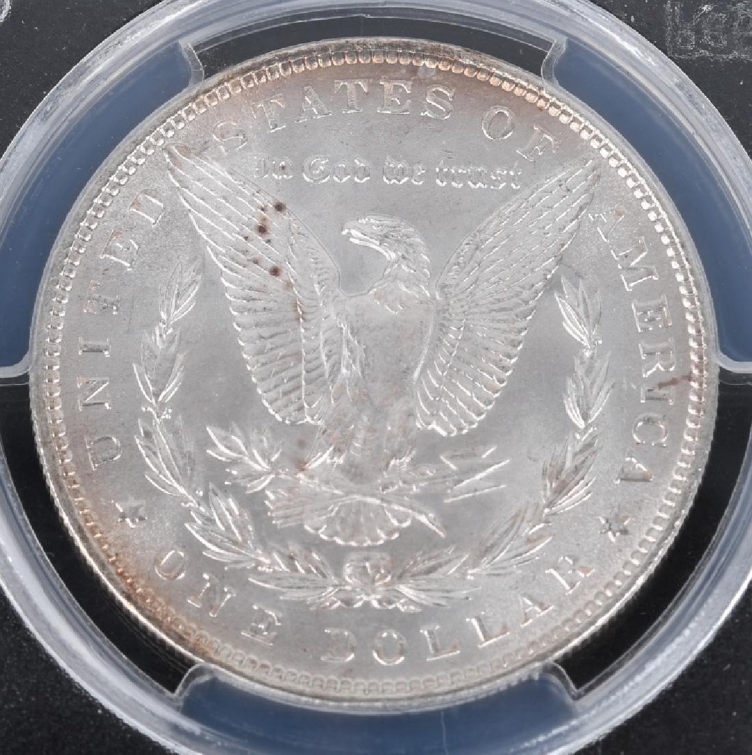 1880S MS64 & 1886 MS65 MORGAN DOLLARS - 3