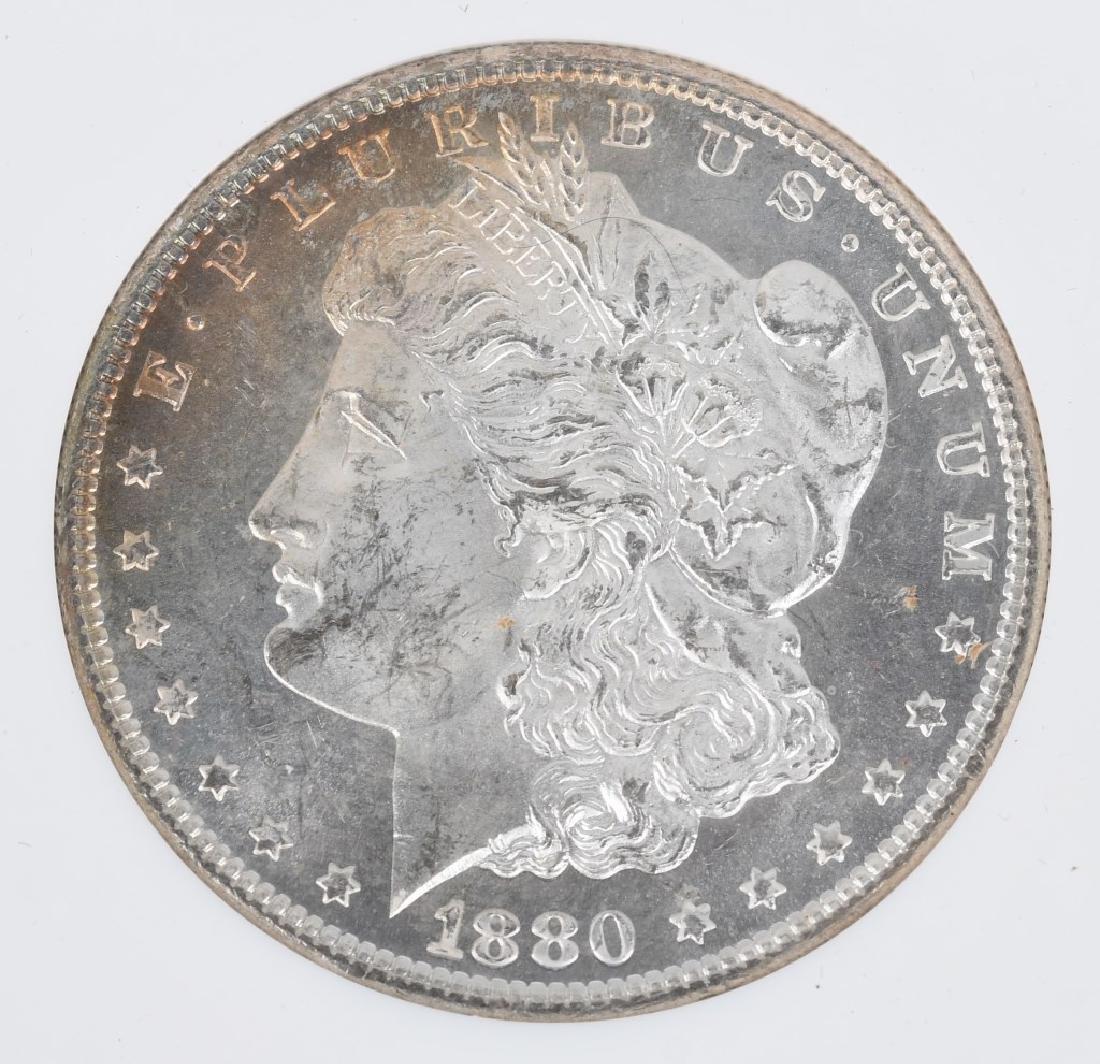 1880S MS64 & 1886 MS65 MORGAN DOLLARS - 4