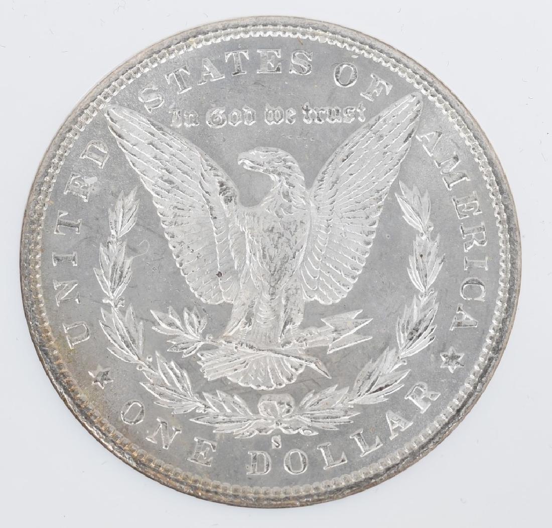 1880S MS64 & 1886 MS65 MORGAN DOLLARS - 5