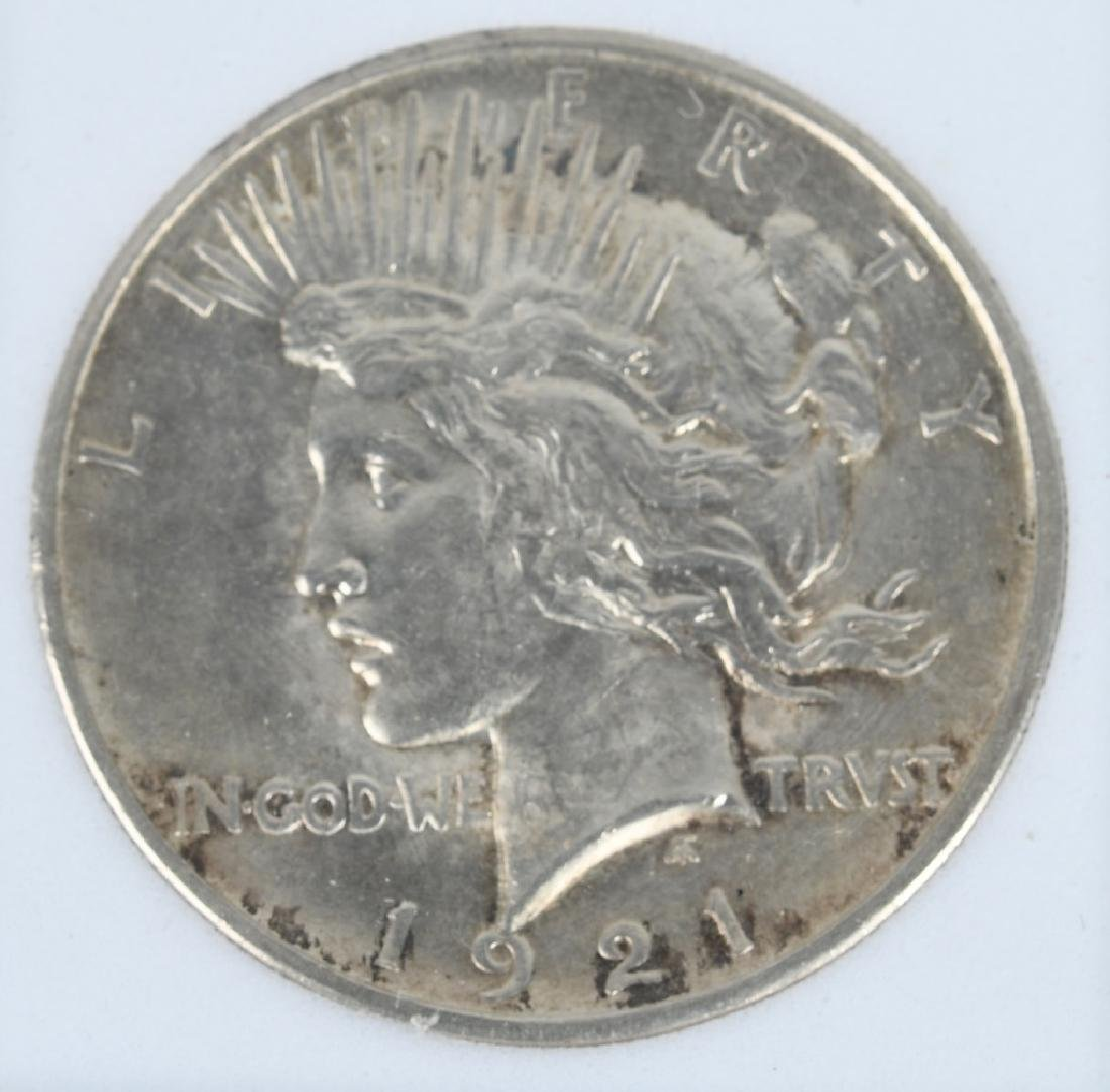 1921 HIGH RELIEF PEACE DOLLAR