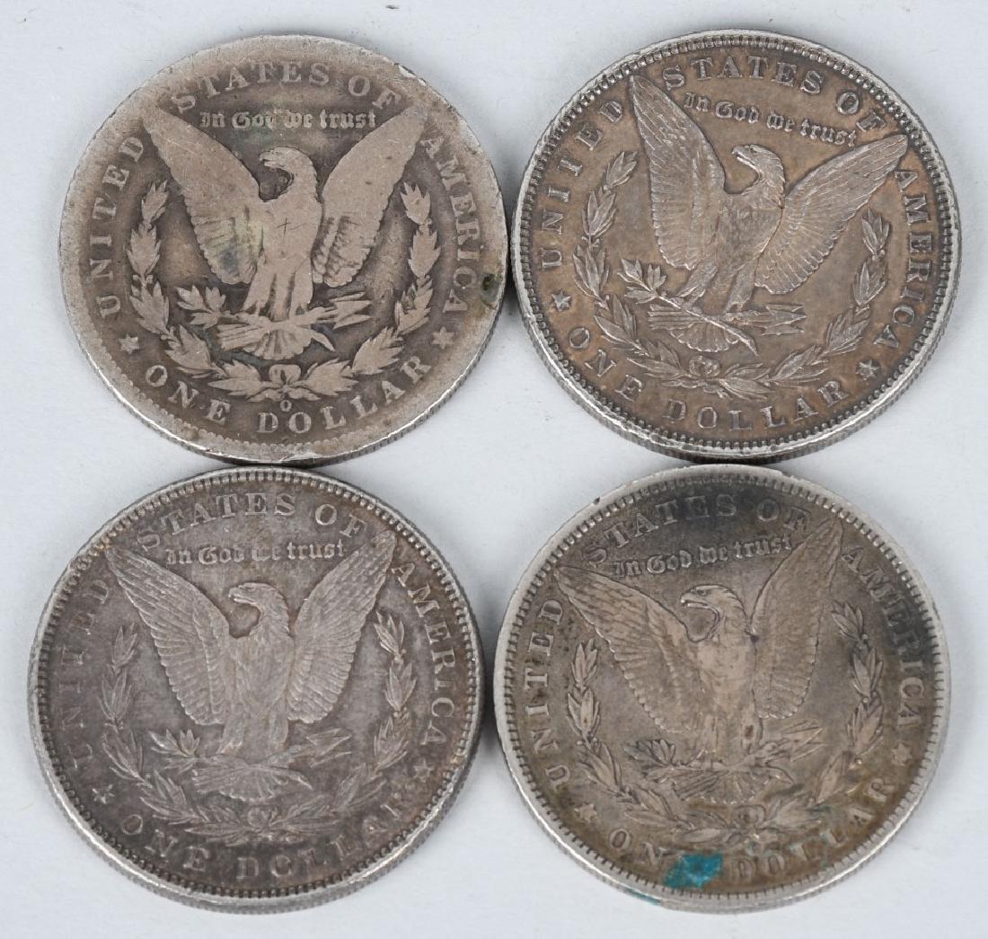 10- US MORGAN & PEACE SILVER DOLLARS G-XF - 3