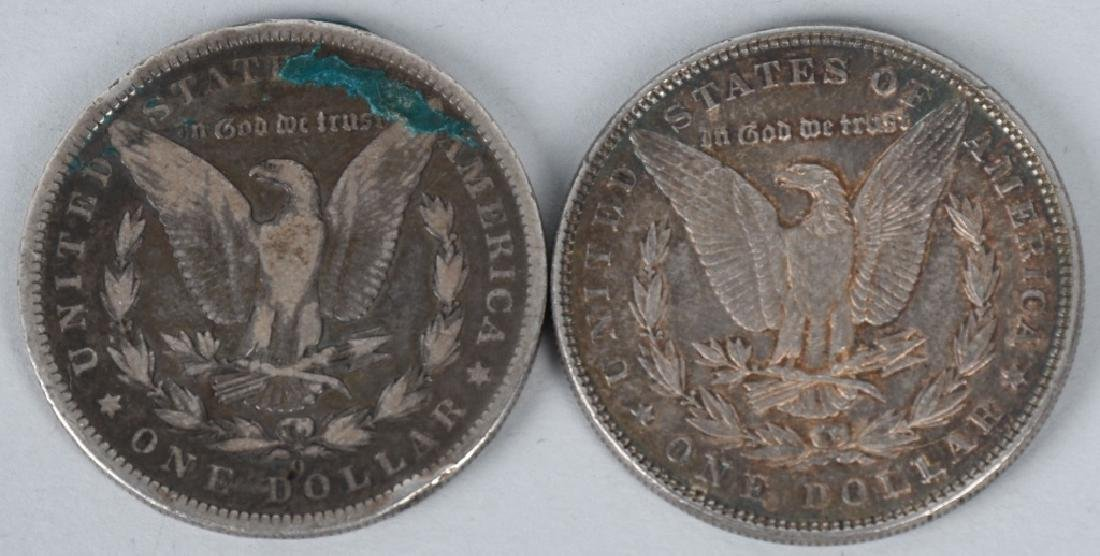 10- US MORGAN & PEACE SILVER DOLLARS G-XF - 7