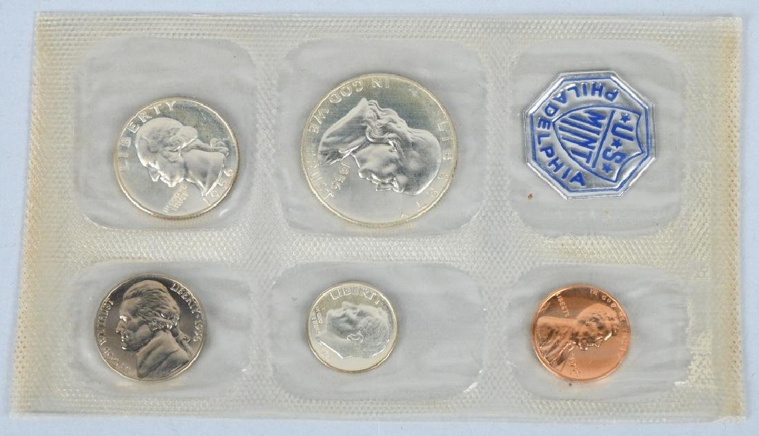 4-90% SILVER PROOF SETS,1956-1959 - 2