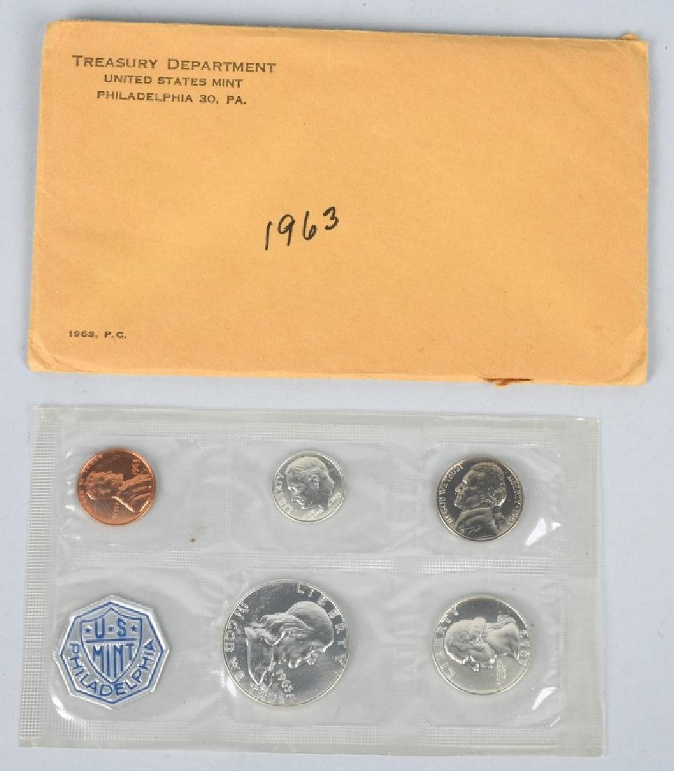 7-90% SILVER PROOF SETS, 1961-1964 - 3