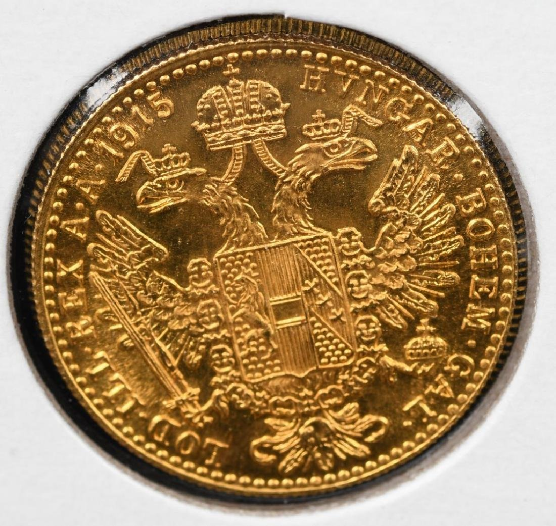 FOREIGN GOLD COINS FRANC ETC... - 7