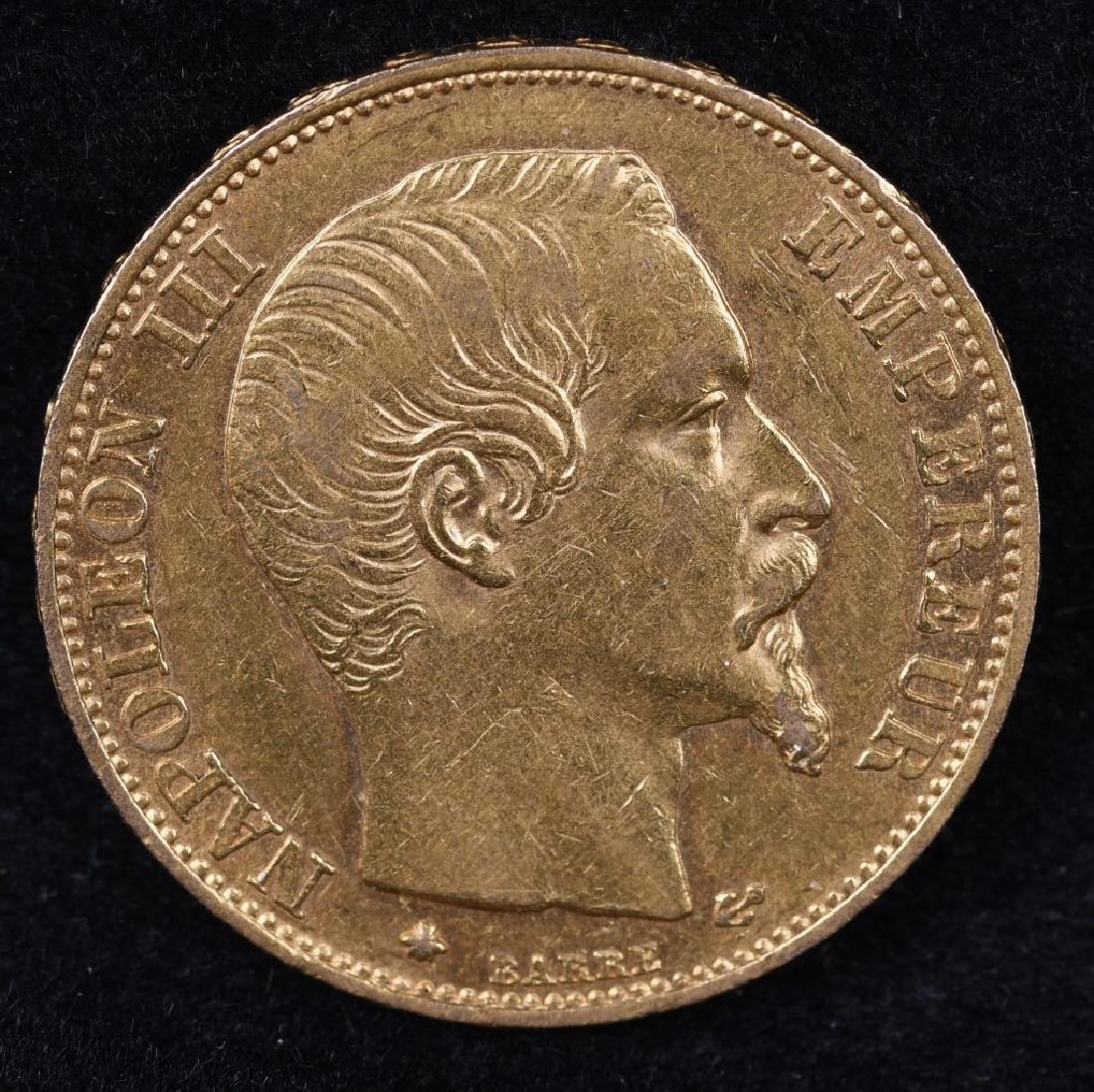 1859 20 FRANC