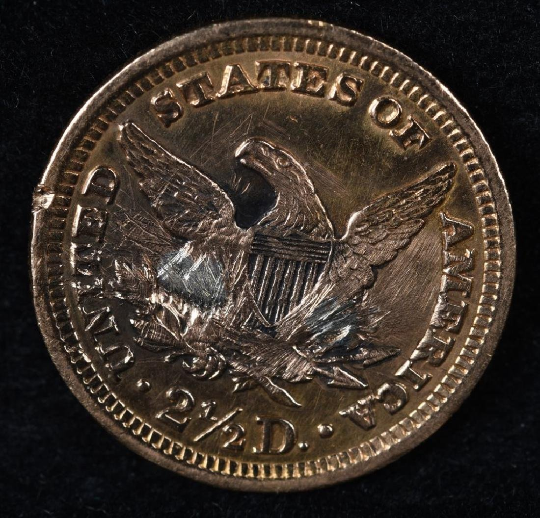 1904 $2 1/2 US GOLD COIN - 2