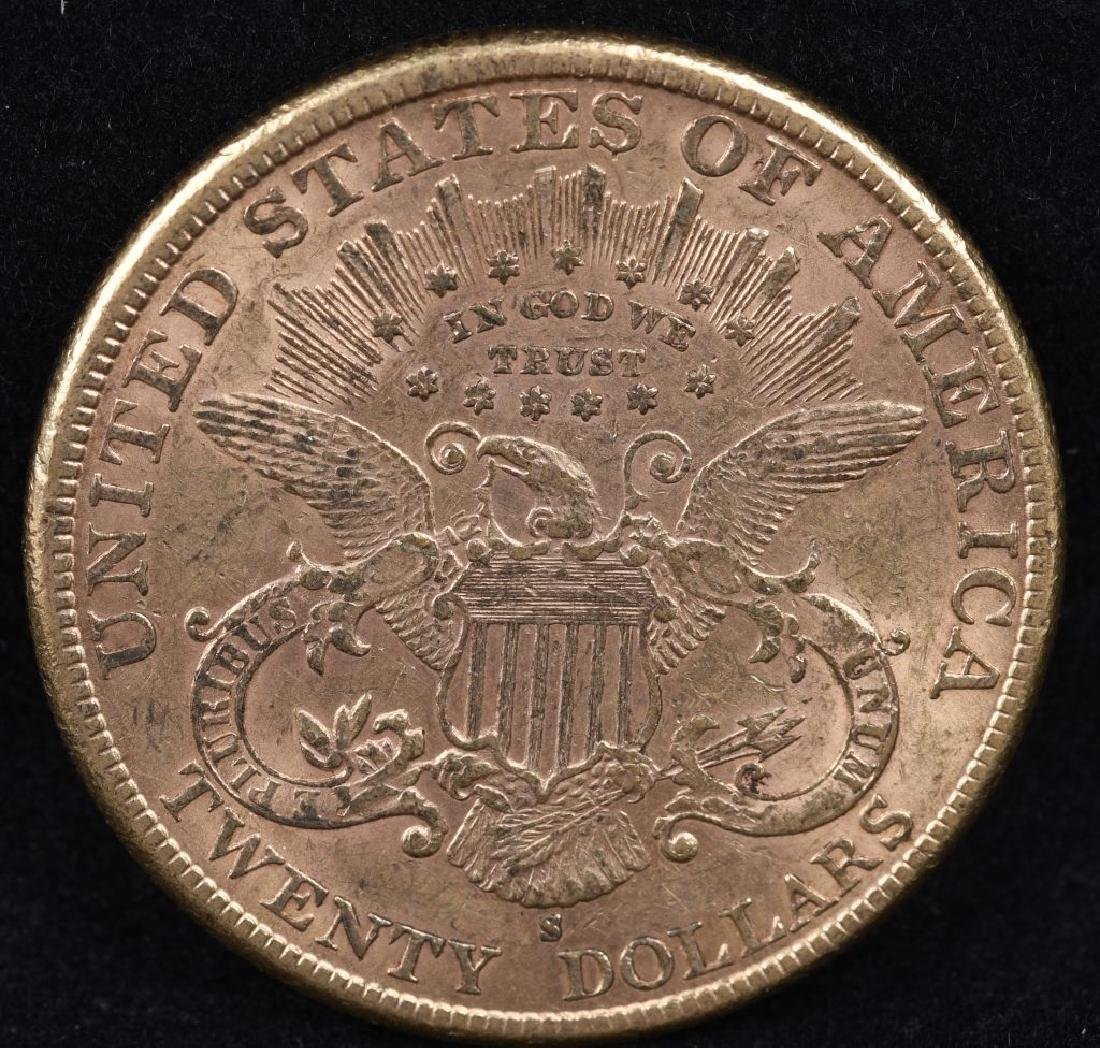 1888S $20 LIBERTY GOLD DOUBLE EAGLE - 2