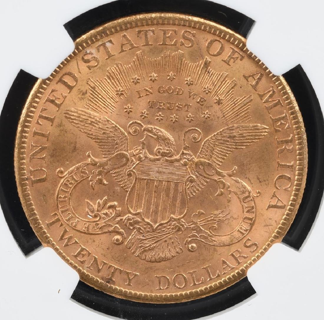 1900 NGC MS62 $20 LIBERTY GOLD DOUBLE EAGLE - 2