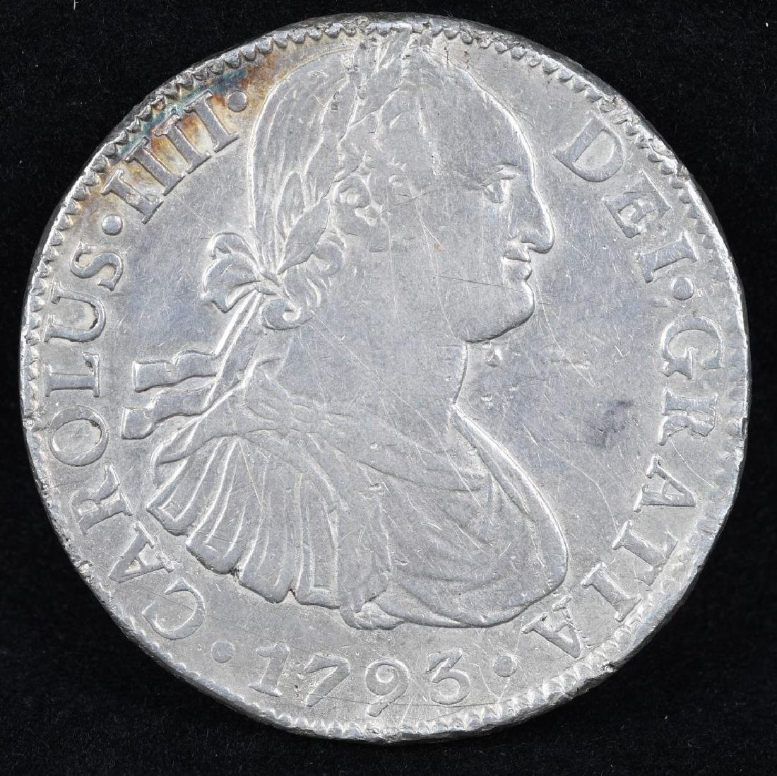 1793 SILVER 8 REALES