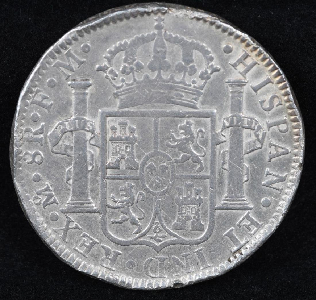 1793 SILVER 8 REALES - 2