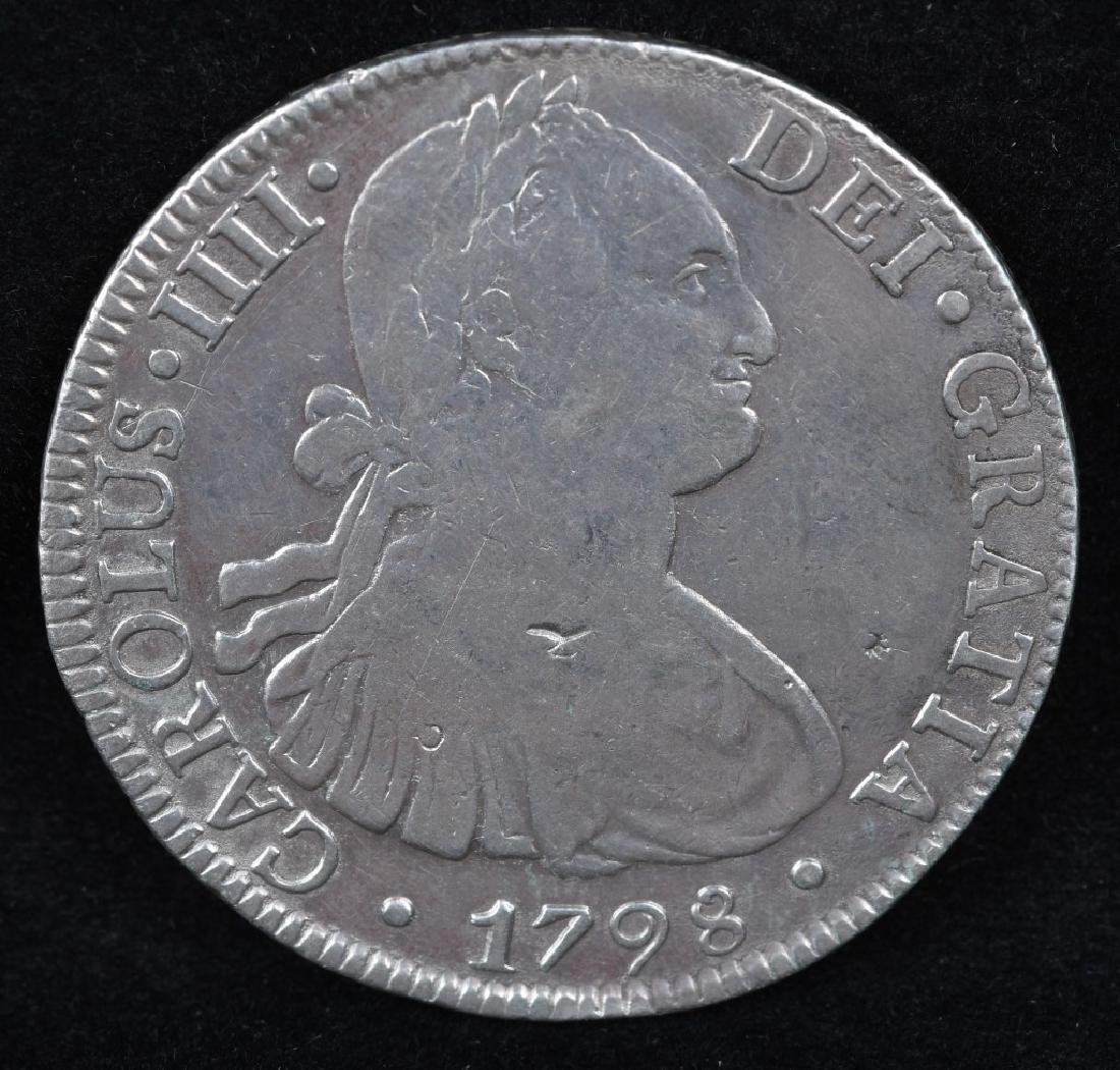 1798 SILVER 8 REALES