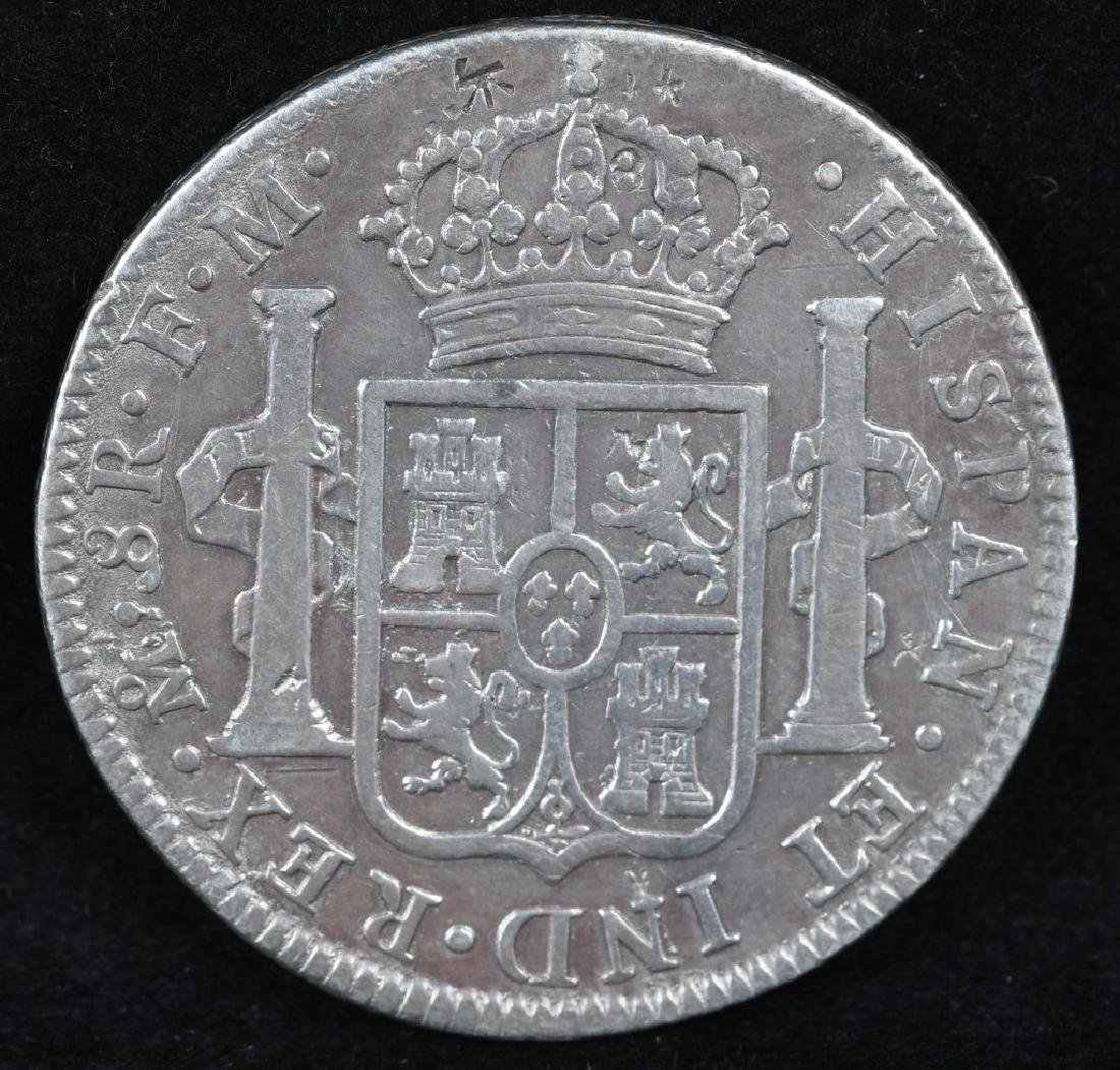1798 SILVER 8 REALES - 2