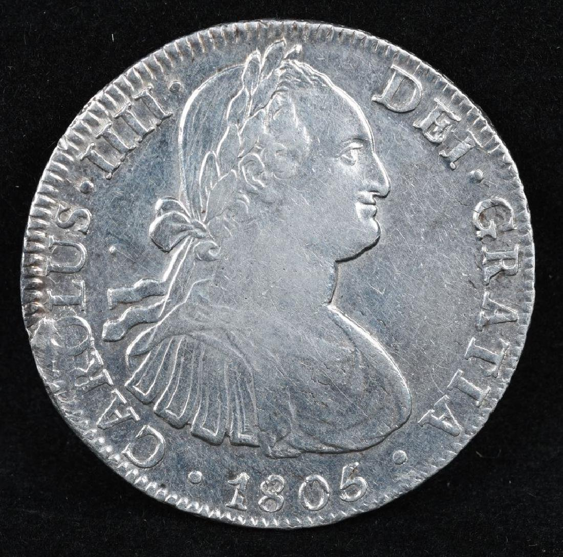 1805 SILVER 8 REALES